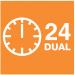 Часы реального времени с двойным таймером ВКЛ./ВЫКЛ.