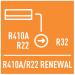 Использование старых фреонопроводов с R22 и R410