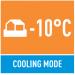 Охлаждение до -10 С