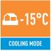Работа в режиме охлаждения при -15°C