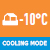 охлажд при низк температ 10град
