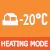 Обогрев при низкой окружающей температуре -20 °С